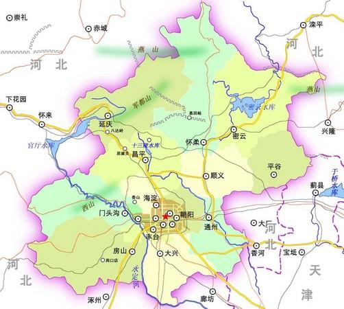 北京地图-北京市地图,北京电子地图,北京地图全图查询